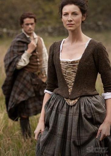 New Outlander Still With Jamie Fraser And Claire Fraser Outlander Online