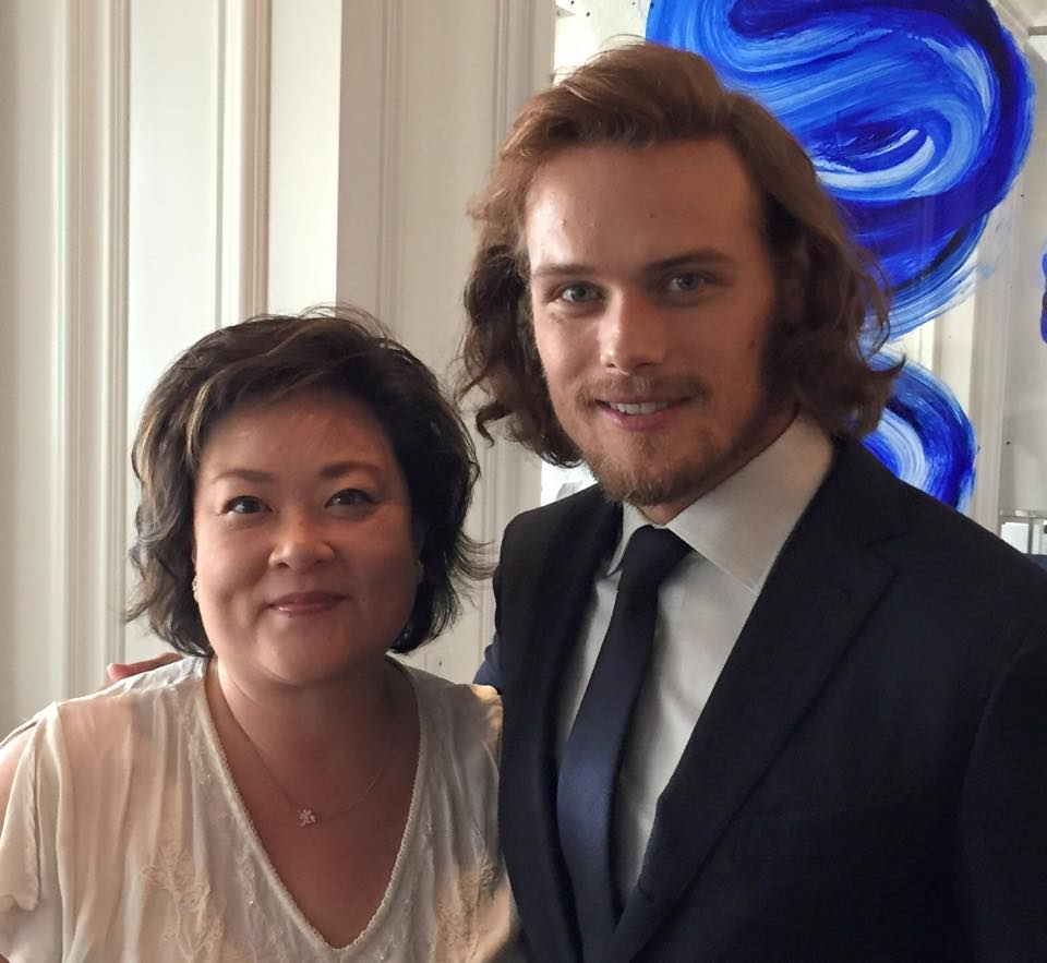 Sam heughan s interview with parade outlander online