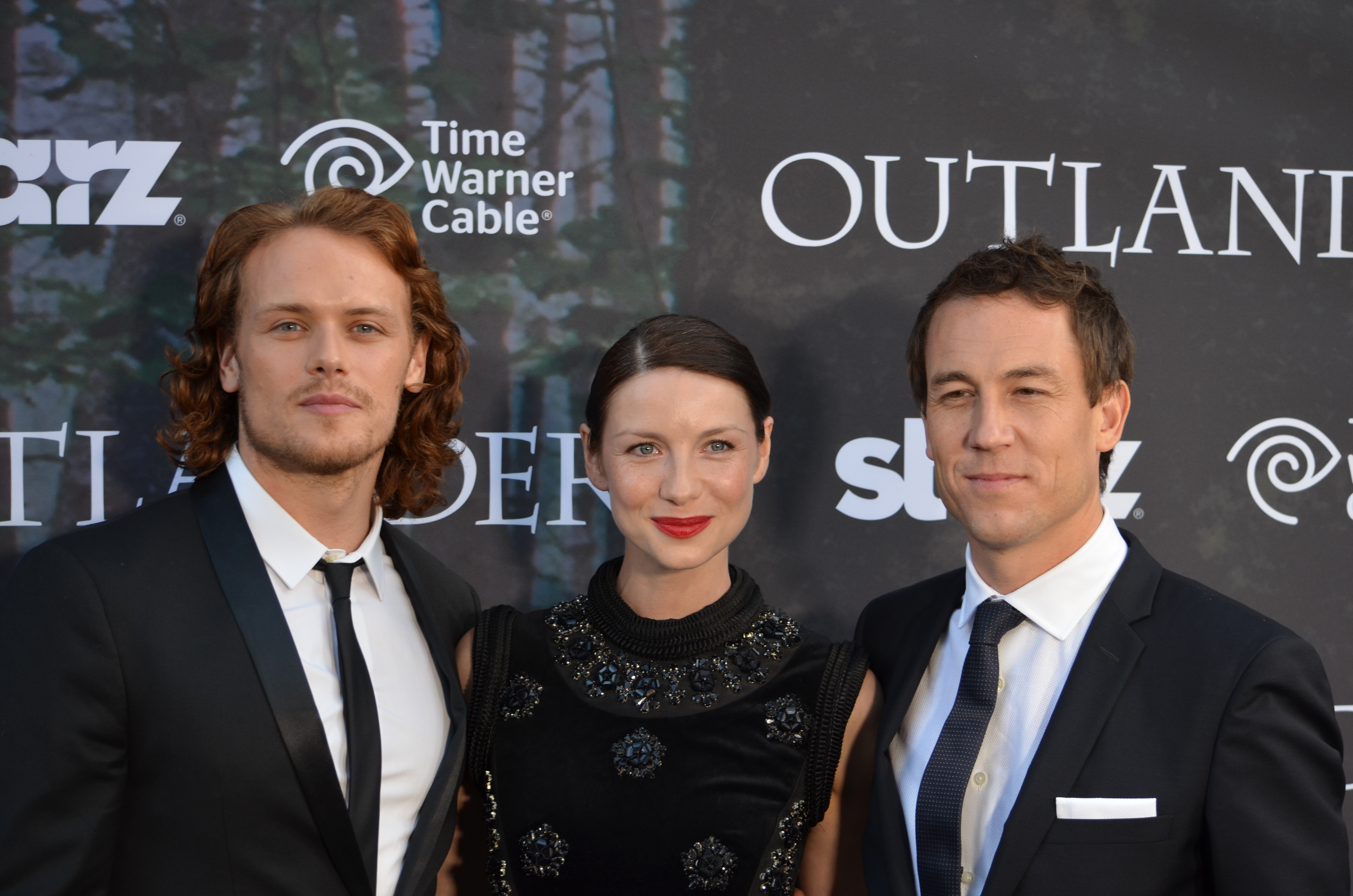 New/Old Pics of the Cast of Outlander at Comic-Con 2014 ...