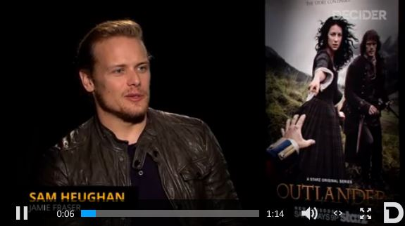 *Video* New Outlander Cast Interview with Decider ...