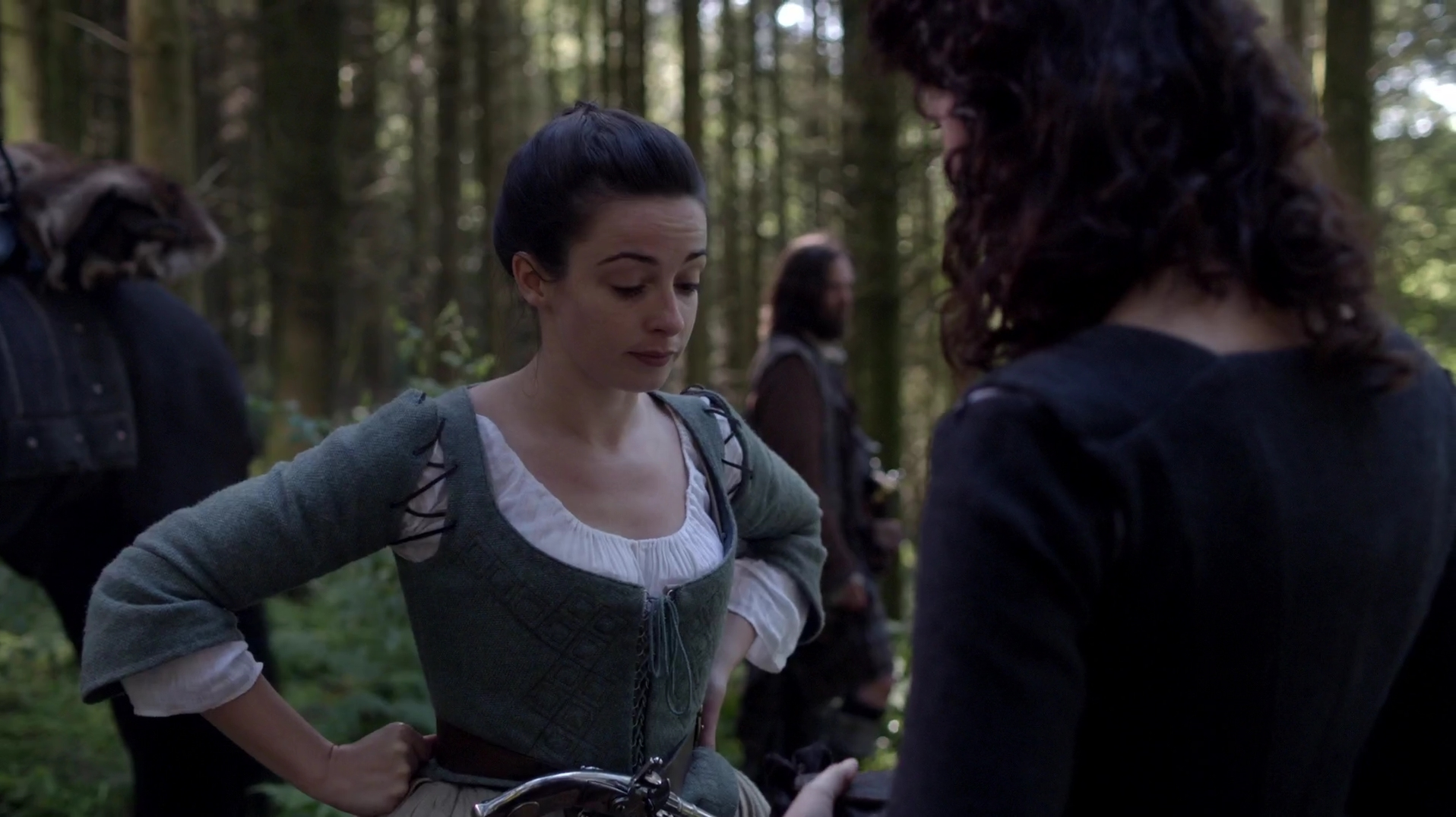 Laura donnelly nude outlander s01e14 10