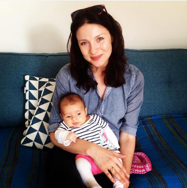 NEW Picture Of Caitriona Balfe