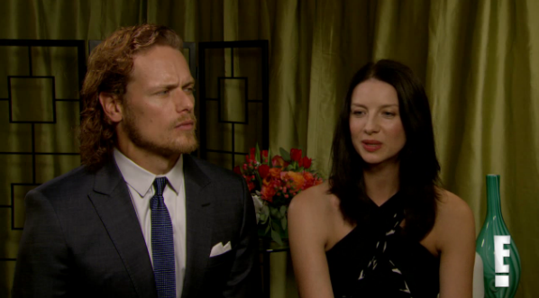 *New* 2 Videos of Caitriona Balfe and Sam Heughan from E ...