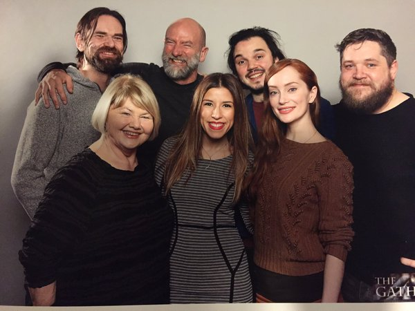 photo ops of the outlander cast at the gathering 2016 day 2