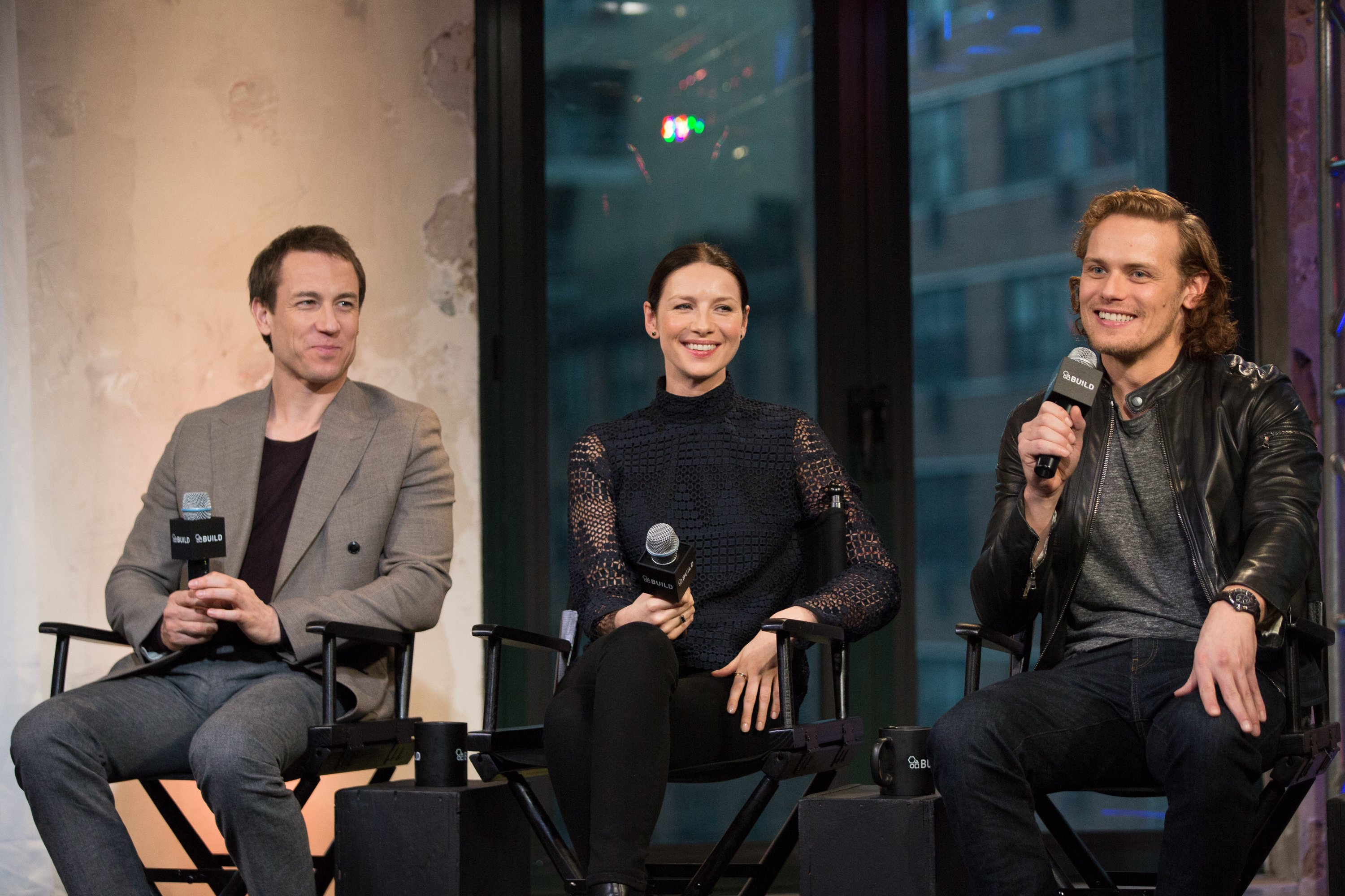 New Interview of Outlander Cast with Yahoo! | Outlander Online