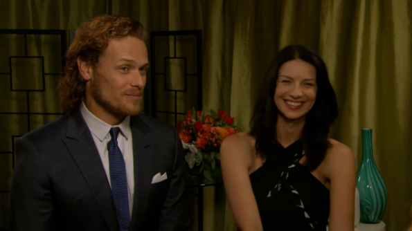 New Interview with the Outlander Cast from E! News ...
