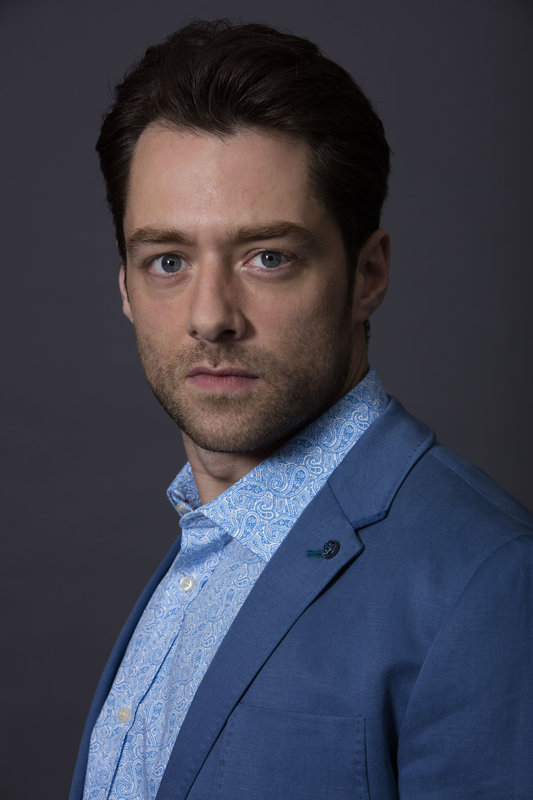 Programme Name: The Replacement - TX: n/a - Episode: n/a (No. n/a) - Picture Shows:  Ian (Richard Rankin) - (C) left Bank - Photographer: Mark Mainz