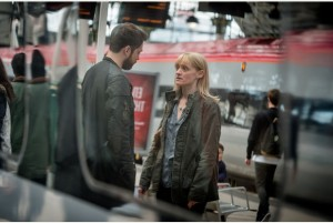 Programme Name: From Darkness - TX: n/a - Episode: n/a (No. 2) - Picture Shows:  Norrie Duncan (RICHARD RANKIN), Claire Church (ANNE-MARIE DUFF) - (C) BBC - Photographer: Ben Blackall