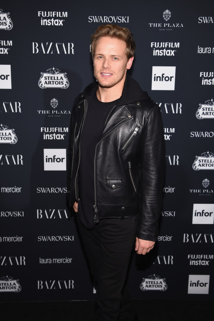 """NEW HQ Pic of Sam Heughan and MacKenzie Mauzy at """"ICONS"""
