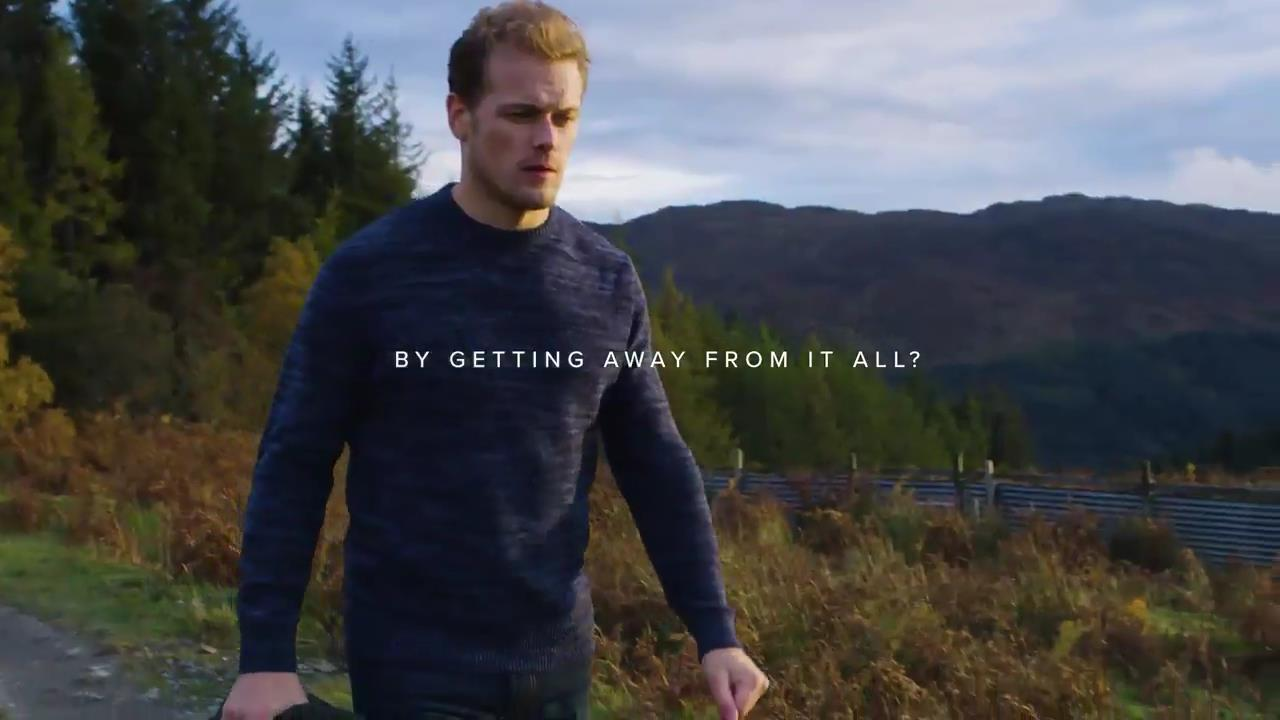 preview of new lifestyle famous brand Sam Heughan – Barbour.mp4_000030440 | Outlander Online